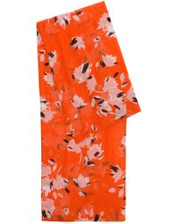 HUGO - Lightweight Modal Scarf In An Abstract Floral Print - Lyst