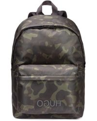 BOSS - Record Backpack - Lyst