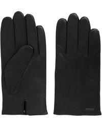 BOSS - Nappa Leather Gloves | Hainz - Lyst