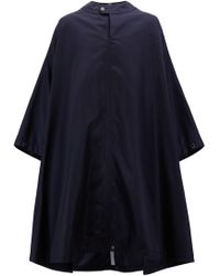BOSS - Fashion Show Capsule Cape In Technical Fabric - Lyst