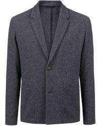 HUGO - Relaxed-fit Blazer In Melange Fabric - Lyst