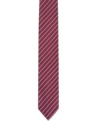 HUGO - Silk Tie With Diagonal Stripe Pattern - Lyst