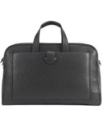 BOSS - Top-grain Leather Bag | Varenne Holdall - Lyst