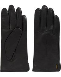 BOSS - Touch-tech Leather Gloves | Gyviza Touch Tec - Lyst