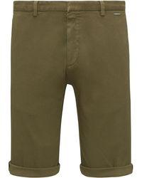 Slim-fit shorts in mesh-structure stretch cotton HUGO BOSS ewAzmMJ4