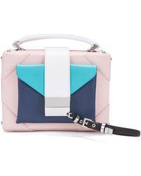 BOSS - Gallery Collection Shoulder Bag In Italian Leather - Lyst