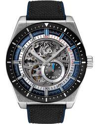 BOSS - Men's Signature Timepiece Sport Watch, 44.5mm - Lyst