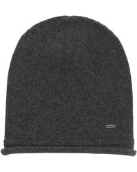 HUGO | Mottled Hat In Cashmere Wool: 'women-x 458' | Lyst
