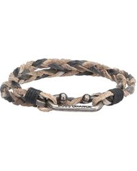 BOSS Orange - Braided Wrap Bracelet In Leather: 'murt' - Lyst