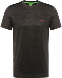 BOSS Green - 'tianotech'   Stretch Tech Jersey T-shirt - Lyst