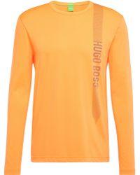 BOSS Green - Regular-fit Long-sleeved Printed Shirt In Cotton Blend: 'togn 2' - Lyst