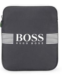 BOSS Green - 'pixel S Zip Env' | Nylon Crossbody Bag - Lyst