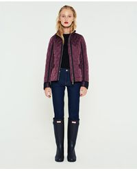 HUNTER - Refined Quilted Trench Jacket - Lyst