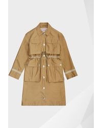 HUNTER - Refined Waterproof Garden Trench Coat - Lyst