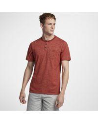 Hurley - Dri-fit Lagos Henley Shirt - Lyst