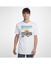 82e6c9be1 Aape By A Bathing Ape T-Shirt With Now Chest Print in White for Men ...