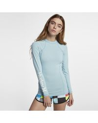 Hurley - One And Only Rashguard Surf Shirt - Lyst