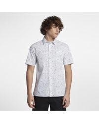 Hurley - Destroyer Short Sleeve Shirt - Lyst