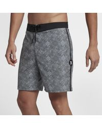 "Hurley - Beachside San Miguel 18"" Board Shorts - Lyst"