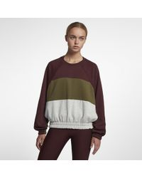 Hurley - One And Only Dolman Fleece Crew - Lyst