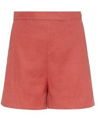 Theory - Tarrytown High-rise Shorts - Lyst