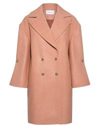 Carven - Studed Bell Sleeve Coat - Lyst