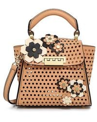 Zac Zac Posen - Hex Floral Kit Eartha Mini Top Handle Bag - Lyst