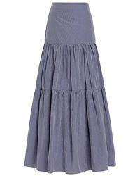 Alexis - Laurel Tier High Waist Maxi Skirt - Lyst