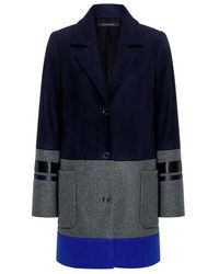 Mother Of Pearl - Iona Color Block Coat - Lyst