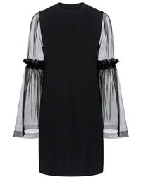 Mother Of Pearl - Kai Sheer Tunic Dress - Lyst