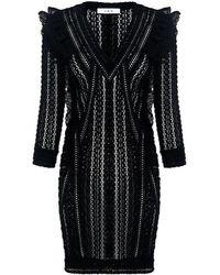 IRO | Lark Robe Lace Tunic Dress | Lyst