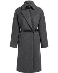 IRO - Accelerate Wool-blend Belted Long Coat - Lyst