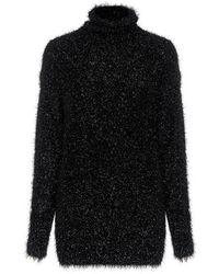 Tibi - Gleam Turtleneck Sweater - Lyst