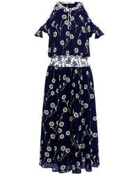 10 Crosby Derek Lam - 3/4 Length Dress - Lyst