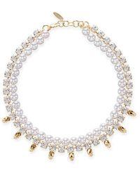 Joomi Lim - Baroque Punk Pearl Necklace - Lyst