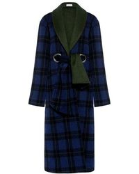 SUNO - Shawl Collar Wool Long Coat - Lyst