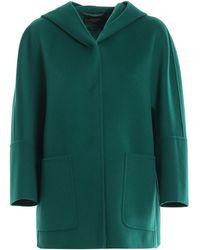 Weekend by Maxmara - Falco Pure New Wool Short Coat - Lyst