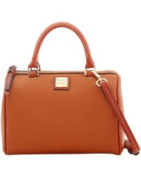 Dooney & Bourke - Pebble Grain Rowan Satchel - Lyst