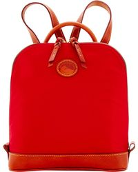 Dooney & Bourke - Nylon Zip Pod Backpack - Lyst