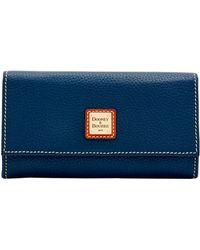 Dooney & Bourke - Pebble Grain Framed Continental Wallet - Lyst