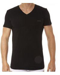 DIESEL Lot de 3 T-Shirts All-Timers - Noir