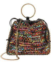 Balmain - Multicolor Tweed B-link Bracelet Backpack - Lyst