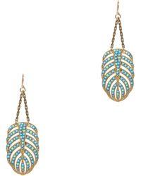 Lulu Frost - Hibiscus Earrings - Lyst
