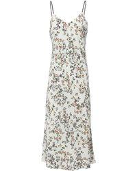 Rag & Bone - Astrid Floral Slip Dress - Lyst