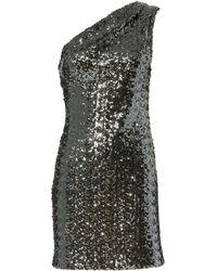 Haney - Valentina Sequin Mini Dress - Lyst