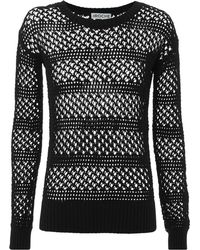 St. Roche - Natalia Open Knit Sweater - Lyst