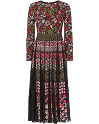 Saloni - Nuri Lace Dress - Lyst