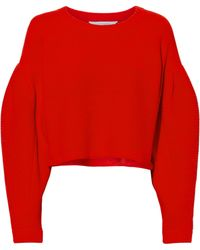 Intermix - Kaia Blouson Sleeve Sweater - Lyst