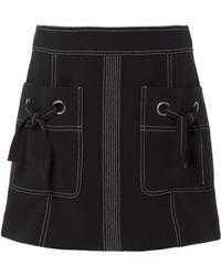 Veronica Beard - Rinko Mini Skirt - Lyst