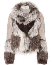 Urbancode - Wynter Faux Fur Jacket - Lyst